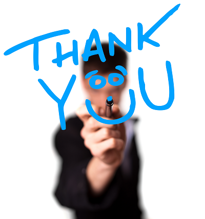 Crafting a useful thank you page